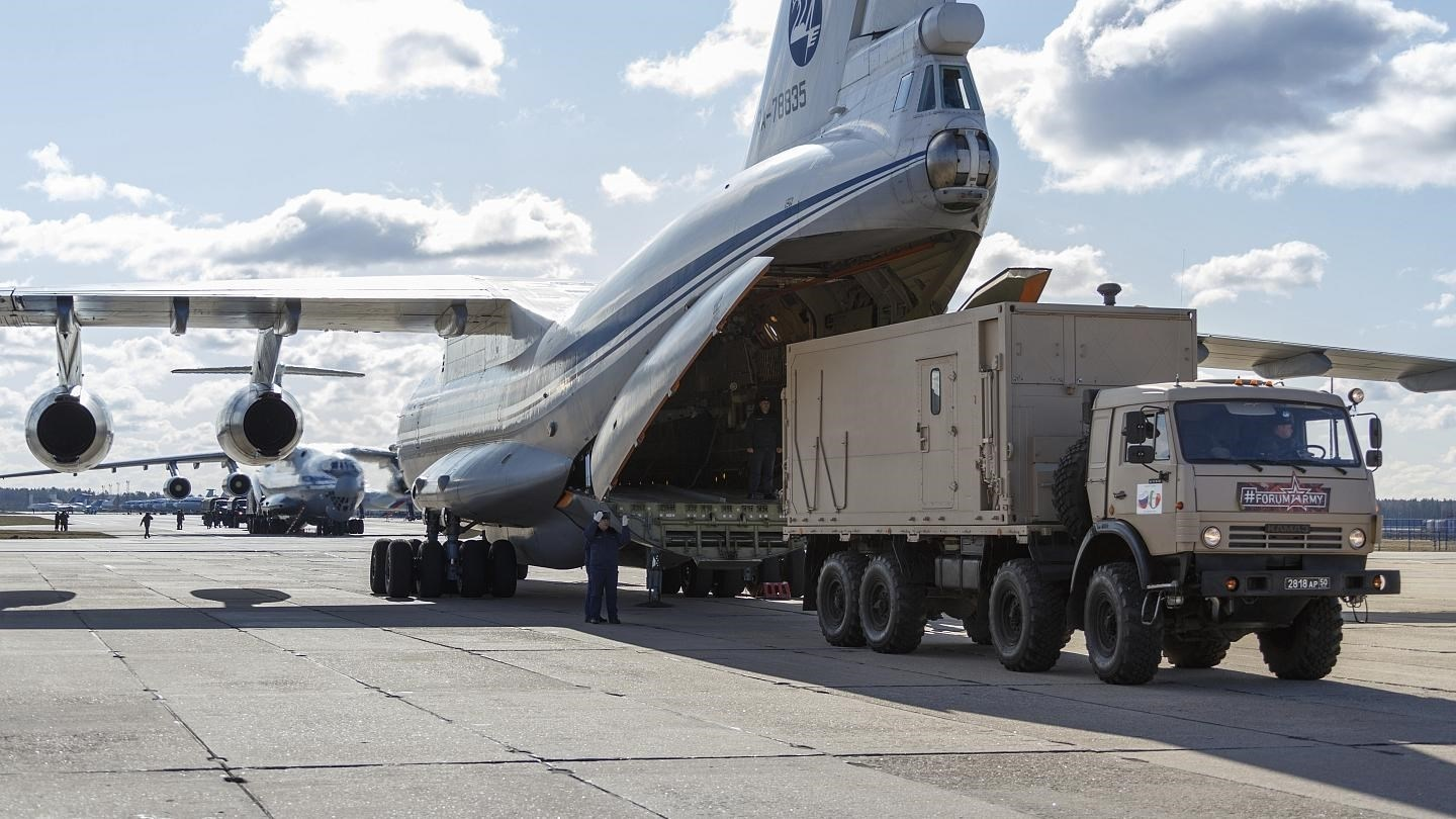Russia Sends 160 Tonnes in Humanitarian Aid to Syria