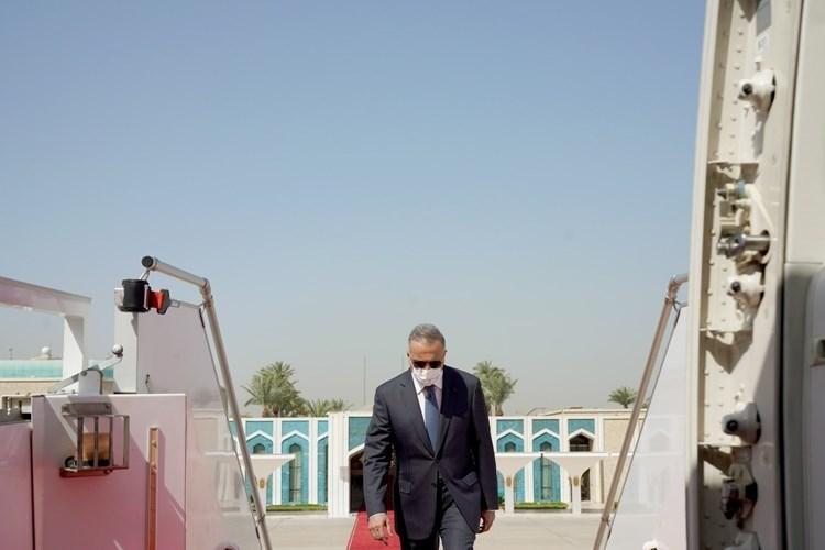 Iraq's Prime Minister Mustafa Al-Kadhimi