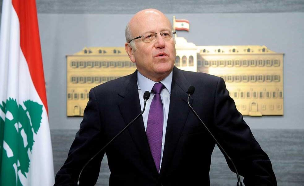 Lebanon's new Prime Designate-Minister Najib Mikati