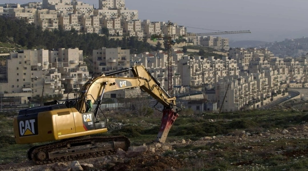 The Israeli occupation continues land seizures in the West Bank