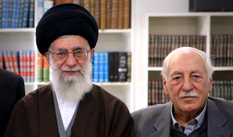 Ayatollah Sayyed Ali Khamenei and Ahmad Jibril