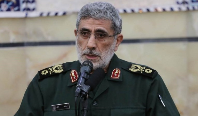 IRGC's Quds Force Leader Esmail Qaani
