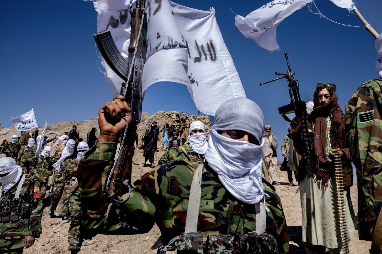 Taliban militants in Afghanistan