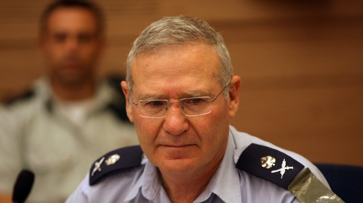 Former head of the Israeli Occupation Forces' Military Intelligence Directorate, Amos Yaldin