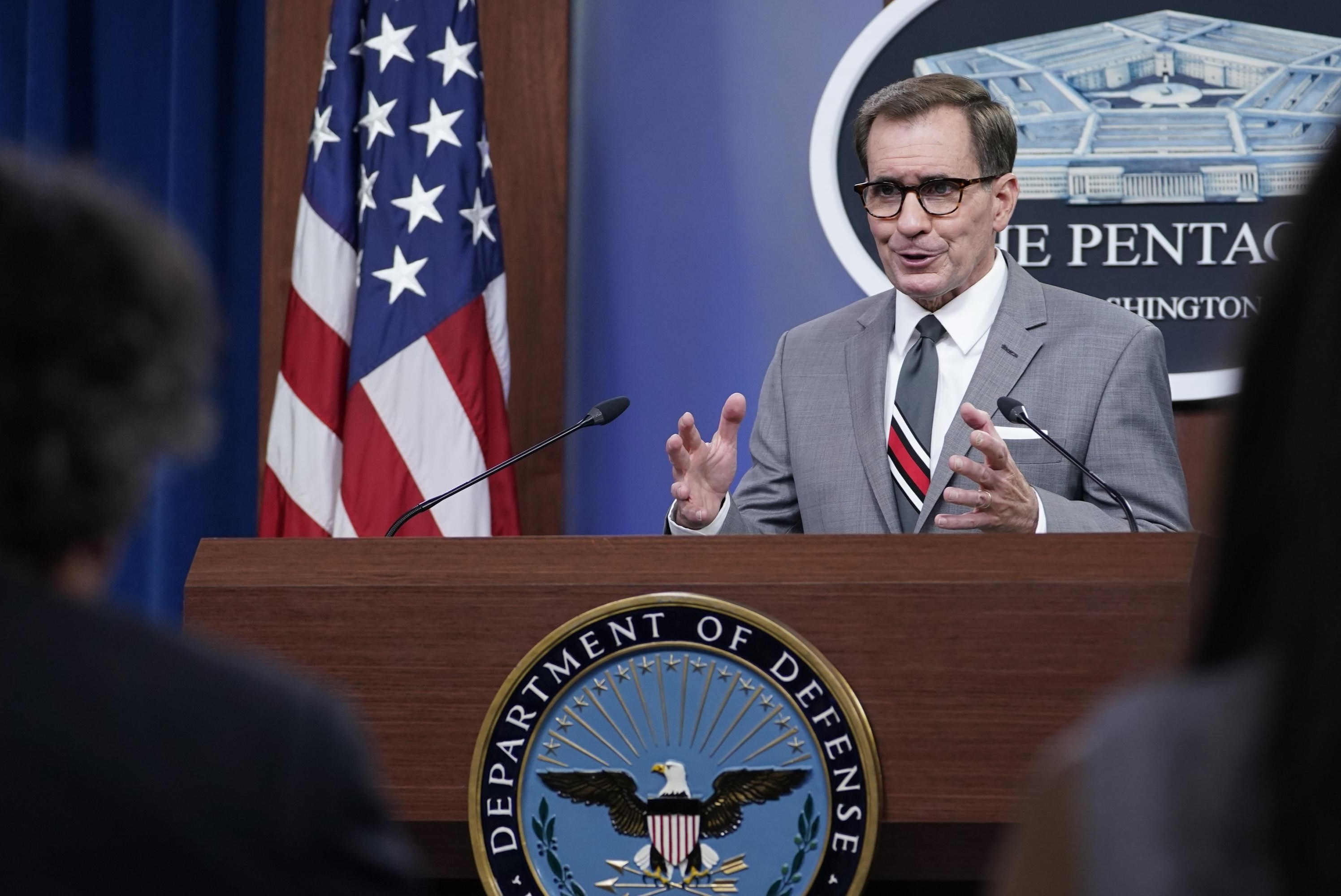 John Kirby: The Afghan government collapsed due to a lack of leadership