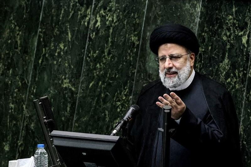 Iranian President Ebrahim Raisi in Parliament, August 21st 2021