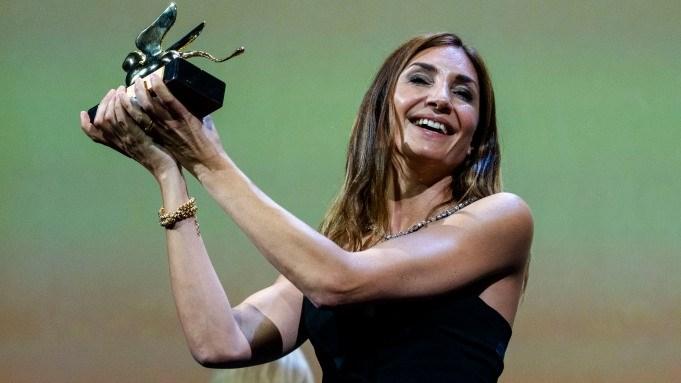 Audrey Diwan winner of The Golden Lion