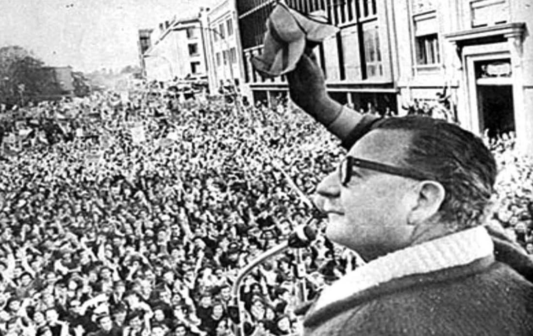 Allende's popularity in Chile was unmatched at the time