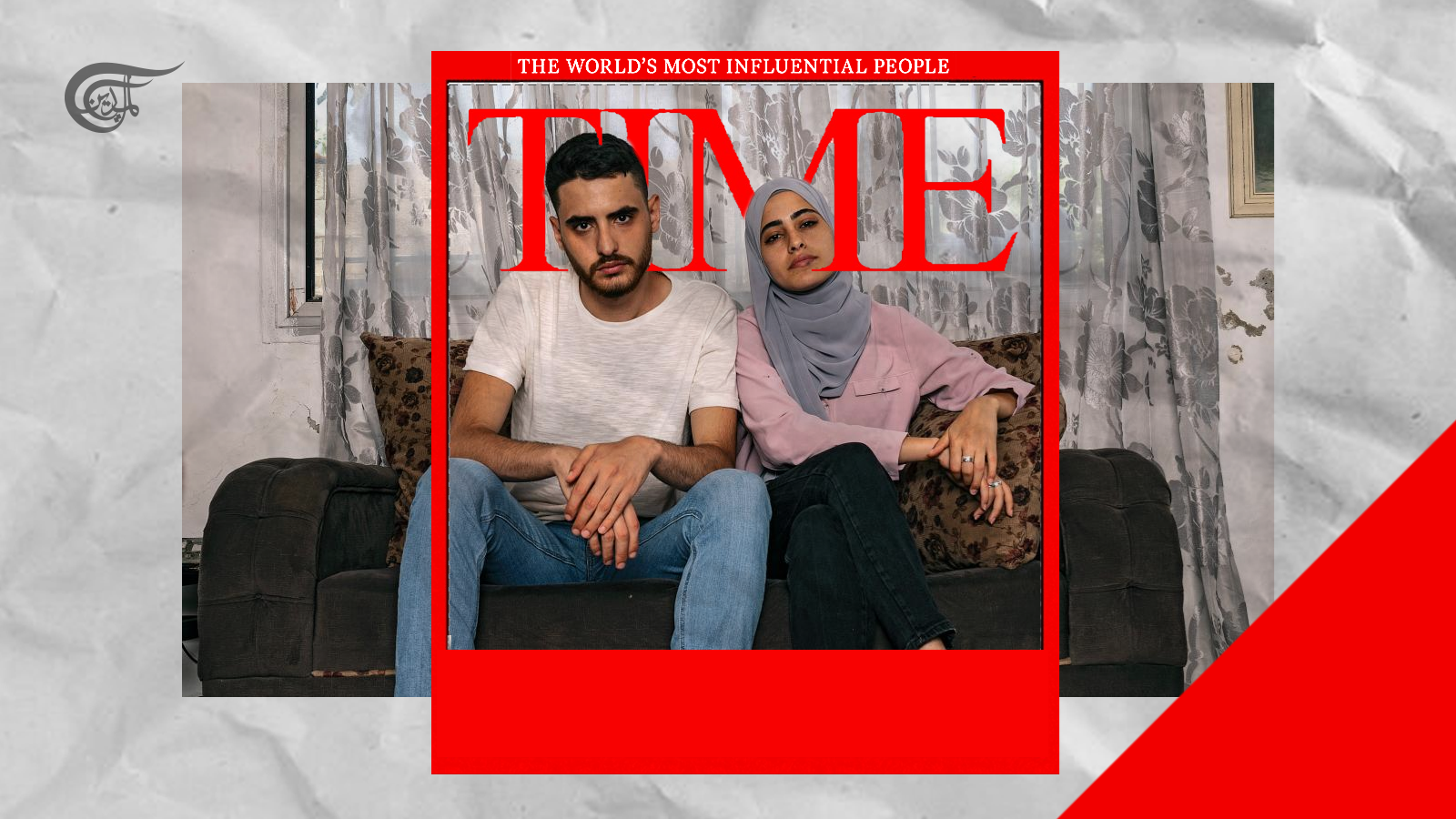 Palestinian Siblings Mohammad and Muna El-Kurd are amongst this year's TIME100