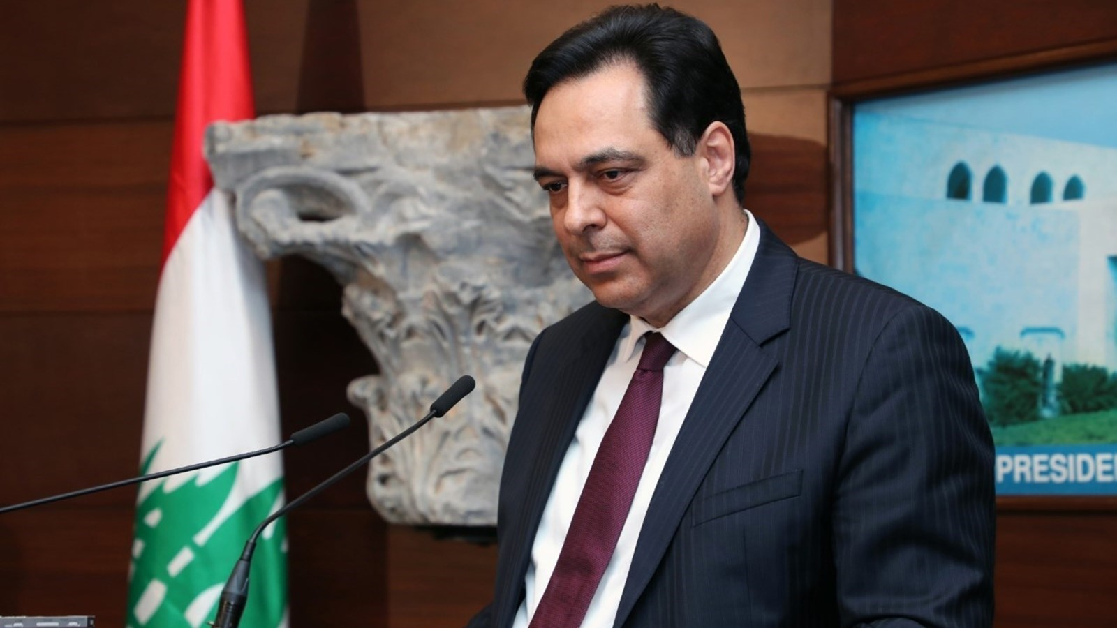 Diab: Good Relations with Syria Benefit Lebanon Greatly