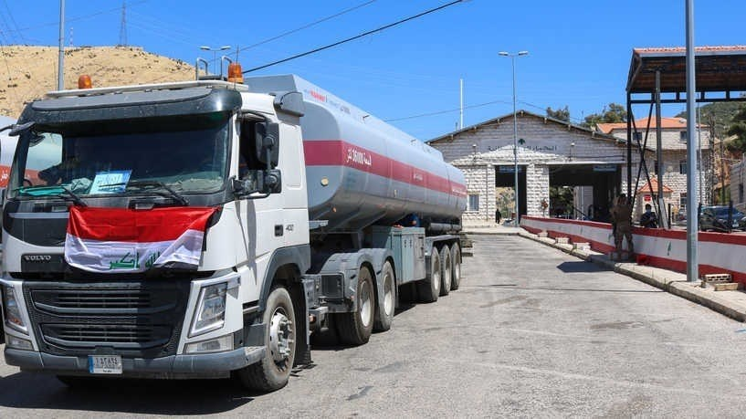 31 tons of Gasoil have arrived to Lebanon from Iraq