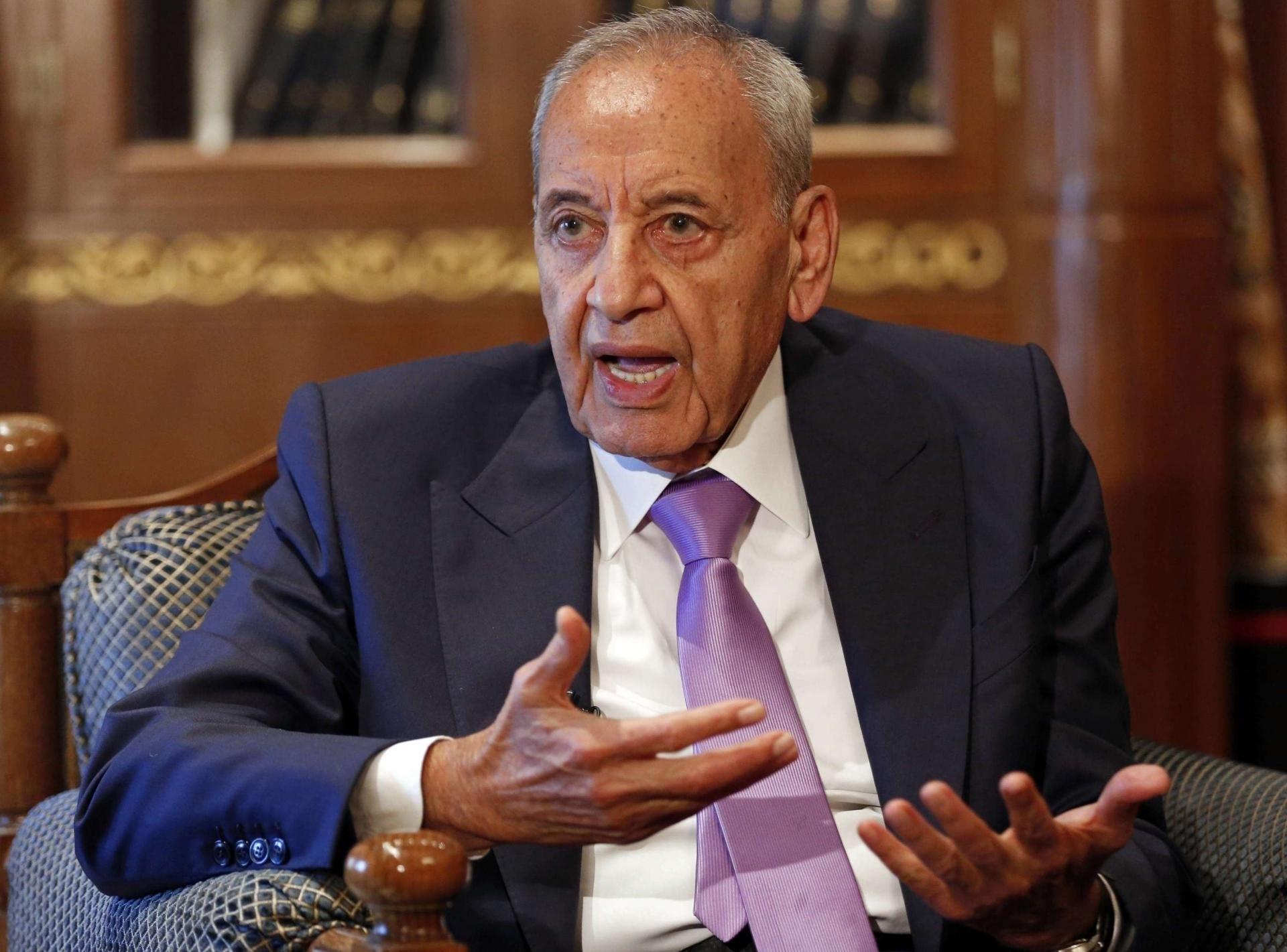 Lebanon's Speaker:
