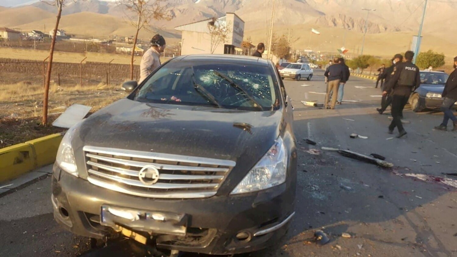 Cameras in this vehicle identified Fakhrizadeh and his position in the car sending this information back to the remote sniper